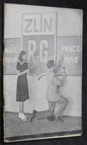 náhled knihy - Výroční zpráva za školní rok 1947-1948, Státní reálné gymnasium ve Zlíně