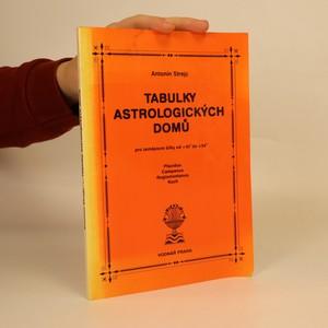 náhled knihy - Tabulky astrologických domů pro zeměpisné šířky od +45° do +54°