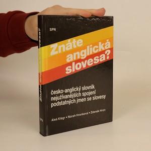 náhled knihy - Znáte anglická slovesa ? : Česko-anglický slovník nejužívanějších spojení podstatných jmen se slovesy