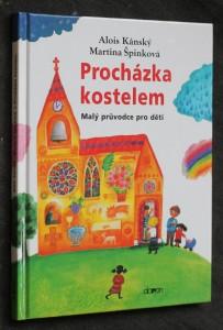 náhled knihy - Procházka kostelem : malý průvodce pro děti