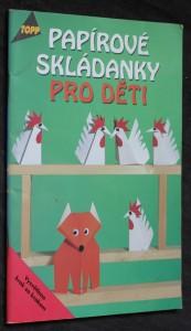 náhled knihy - Papírové skládanky pro děti