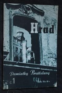 náhled knihy - Pamiatky Bratislavy. Hrad
