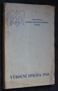náhled knihy - 85. výroční zpráva  pražská tělocvičná jednota Sokol