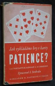 náhled knihy - Patience : 116 návodů k zajímavým hrám s kartami