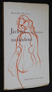 náhled knihy - Jáchym, tovaryš houslařský, na zkušené : Báseň