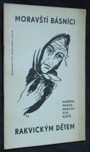 náhled knihy - Moravští básníci rakvickým dětem