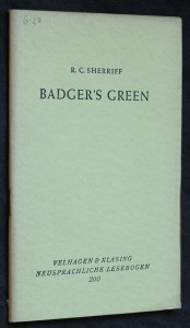 náhled knihy - Badger's green