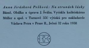 antikvární kniha Na strunách lásky : básně, 1938