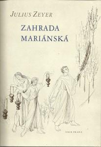 náhled knihy - Zahrada Mariánská