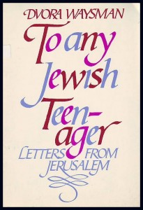 náhled knihy - To any Jewish Teen-ager. Letters from Jerusalem