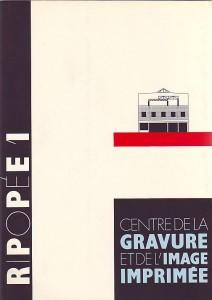 náhled knihy - R/Popée 1. Centre de la Gravure et del´Image Imprimée