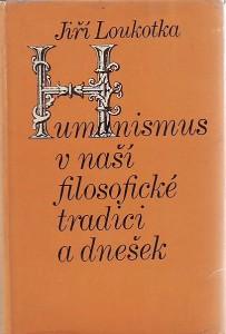 náhled knihy - Humanismus v naší filosofické tradici a dnešek