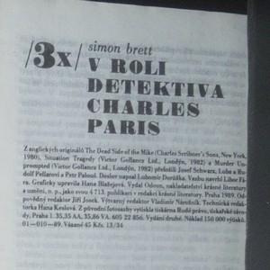 antikvární kniha 7x edice Odeon Třikrát (viz foto), neuveden