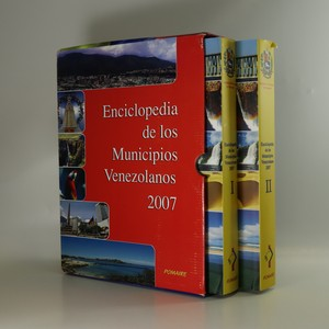 náhled knihy - Enciclopedia de los Municipios Venezolanos. (I. a II., 2 svazky)