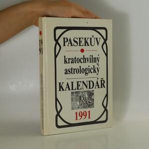 náhled knihy - Pasekův kratochvilný astrologický kalendář 1991