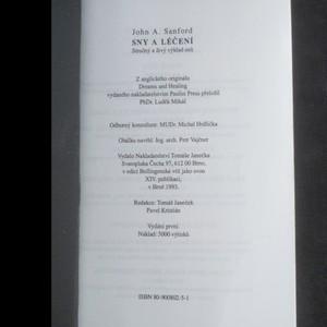 antikvární kniha Sny a léčení, 1993