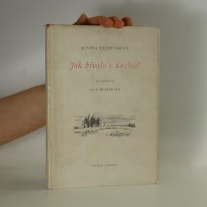 náhled knihy - Jak bývalo v Kozlově