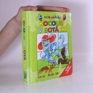 náhled knihy - Kocour v botách : pohádka, puzzle, omalovánka