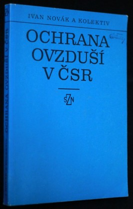 náhled knihy - Ochrana ovzduší v ČSR