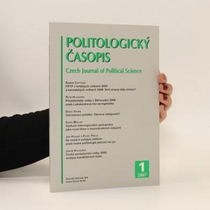 náhled knihy - Politologický časopis č. 1, roč. 14 (2007)