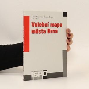 náhled knihy - Volební mapa města Brna