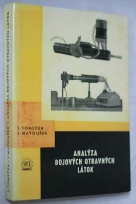 náhled knihy - Analýza bojových otravných látok