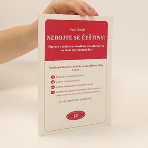 náhled knihy - Nebojte se češtiny: Příprava k přijímacím zkouškám z českého jazyka