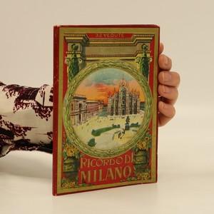 náhled knihy - Ricordodi Milano (nemá tiráž)