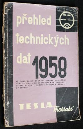 náhled knihy - Přehled technických dat 1958