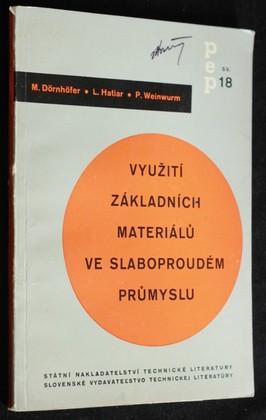 náhled knihy - Využití základních materiálů ve slaboproudém průmyslu