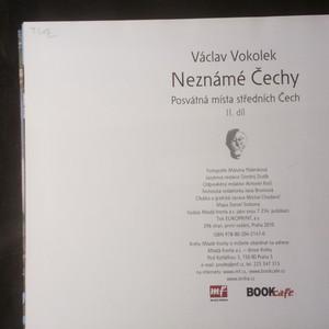 antikvární kniha Neznámé Čechy II. díl. Posvátná místa středních Čech, 2010