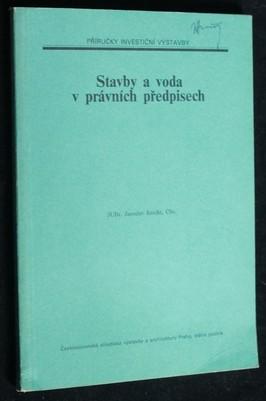 náhled knihy - Stavby a voda v právních předpisech