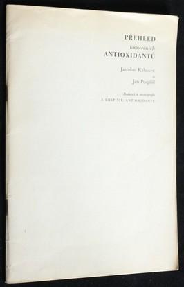 náhled knihy - Přehled komerčních antioxidantů