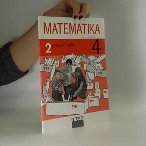 náhled knihy - Matematika 4 : pracovní sešit 2 pro základní školy