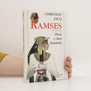 náhled knihy - Ramses. Paní z Abú Simbelu
