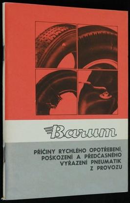 náhled knihy - Příčiny rychlého opotřebení, poškození a předčasného vyřazení pnezmatik z provozu