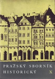 náhled knihy - Pražský sborník historický X.