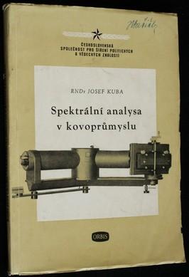 náhled knihy - Spektrální analysa v kovoprůmyslu