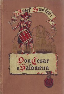náhled knihy - Don Cesar a Salomena. Román ze sedmnáctého století