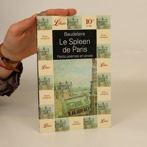 náhled knihy - Le Spleen de Paris