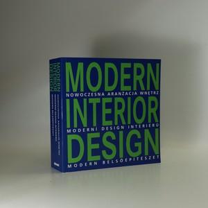 náhled knihy - Modern interior design