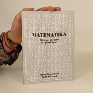náhled knihy - Matematika. Přijímací zkoušky na vysoké školy