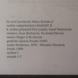 antikvární kniha Cestopisy (věnování autora), 1990