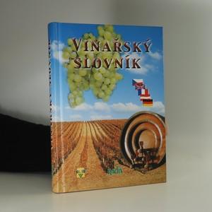 náhled knihy - Vinařský slovník