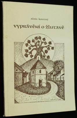 náhled knihy - Vyprávění o Žlutavě