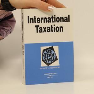 náhled knihy - International taxation in a nutshell