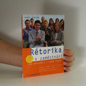 náhled knihy - Rétorika v zaměstnání