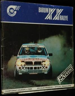 náhled knihy - XX. Barum rallye 1990