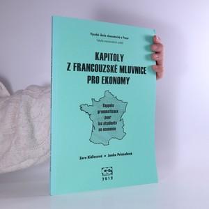 náhled knihy - Kapitoly z francouzské mluvnice pro ekonomy. Rappels grammaticaux pour les étudians en économie