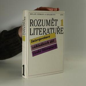 náhled knihy - Rozumět literatuře. Interpretace děl české literatury. 1